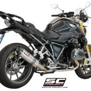 Escape SC-Project Oval para BMW R1200 R/RS