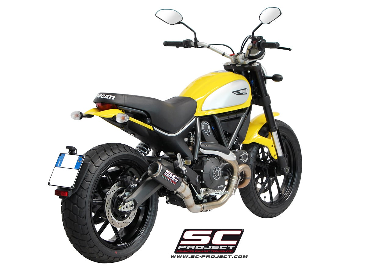 escape sc project cr t para ducati scrambler. Black Bedroom Furniture Sets. Home Design Ideas