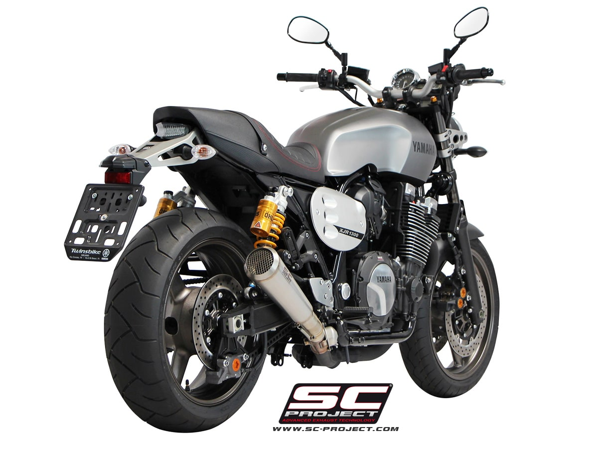 Escape sc project conic para yamaha xjr1300 racer for Yamaha xjr 1300