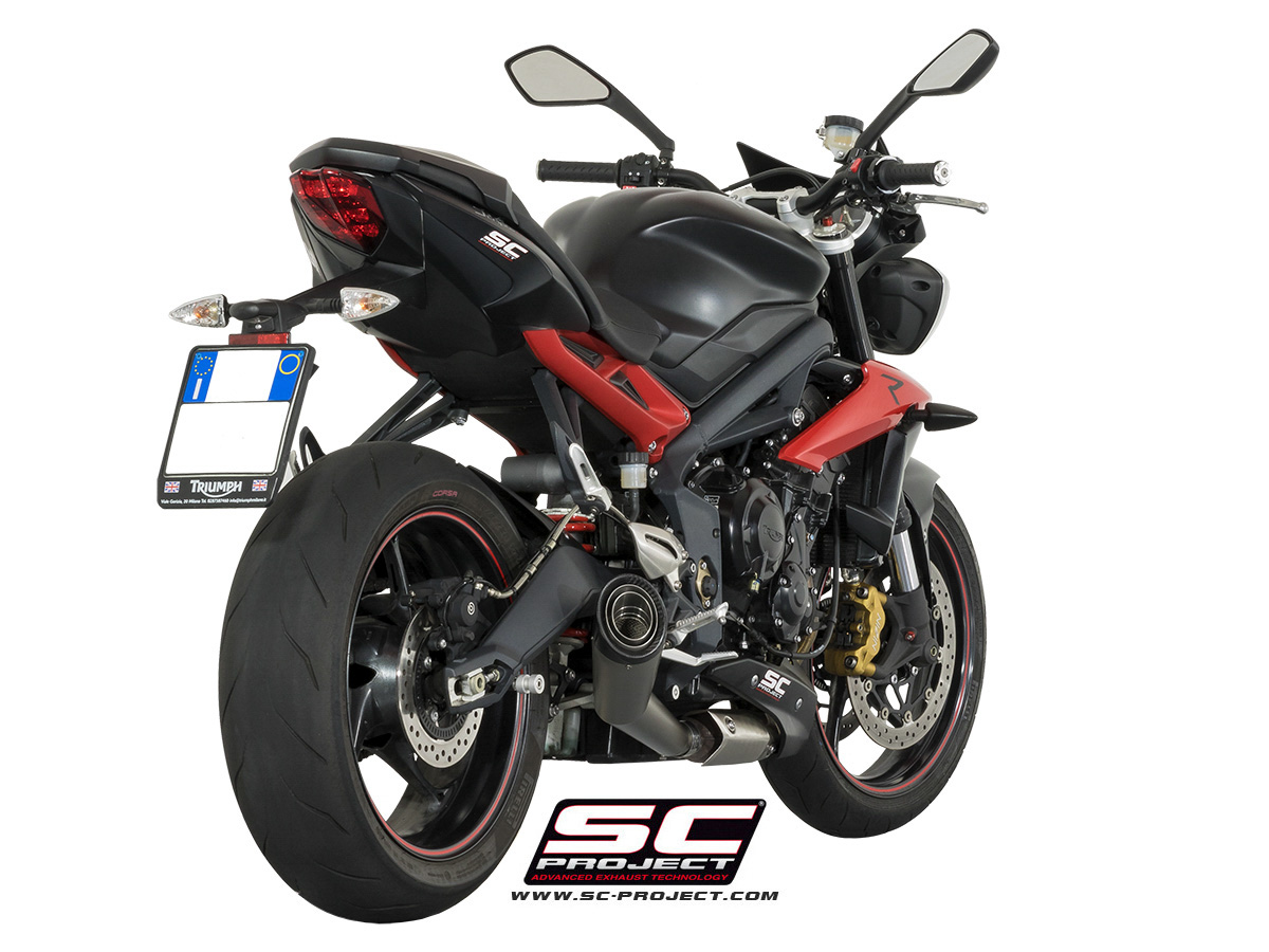 sc project s1 para triumph street triple 675 r. Black Bedroom Furniture Sets. Home Design Ideas
