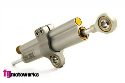 Amortiguador dirección lineal Ohlins 68mm. Fgmotoworks.