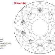 Brembo 78B40863