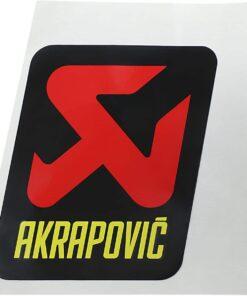 Akrapovic STICKER AKRAPOVIC R1 15