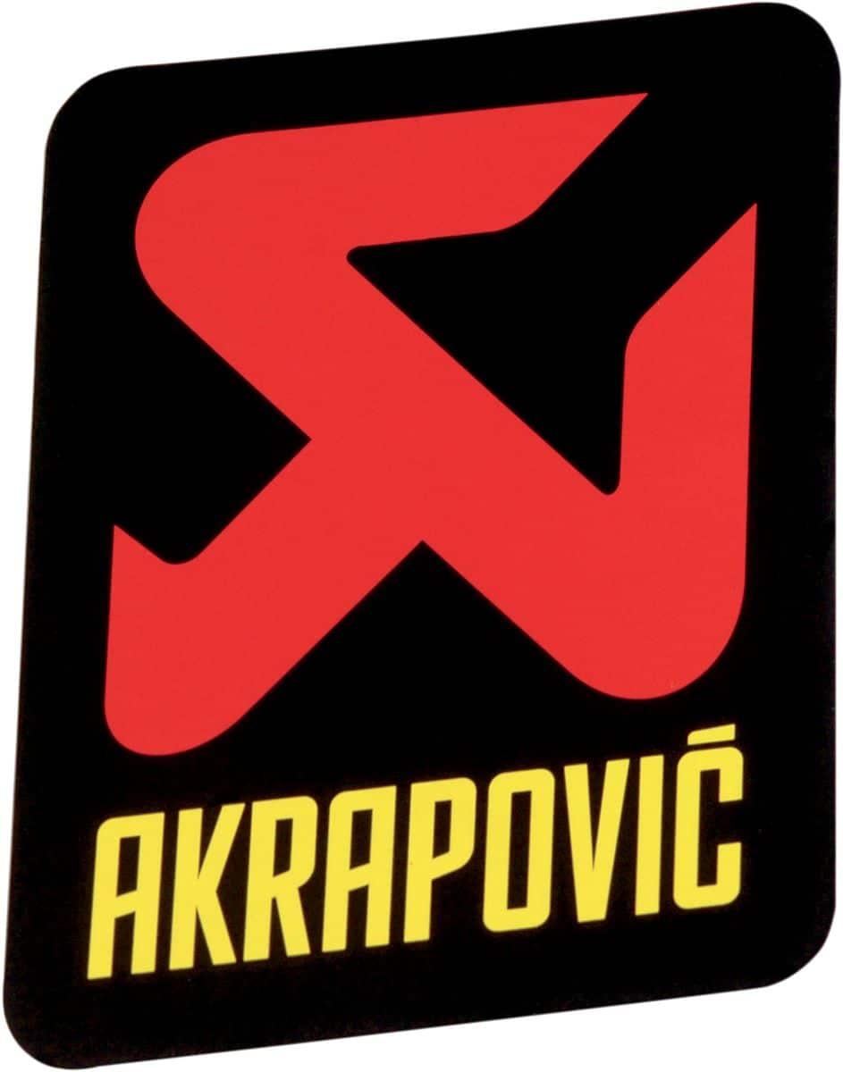 Akrapovic STICKER AKRAPOVIC VERT 95