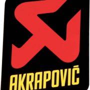 Akrapovic STICKER AKRAPOVIC VERT 75