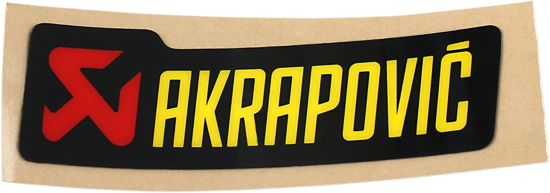 Akrapovic STICKER AKRAPOVIC 90X26.5