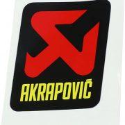 Akrapovic STICKER AKRAPOVIC 57X60