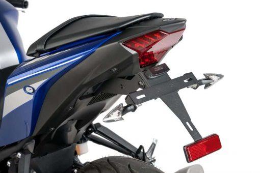Portamatrícula Puig para Yamaha MT-03 - 7799N
