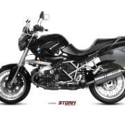 Silencioso STORM Oval Inox BMW R 1200 R 11-14 - 74.B.028.LX2