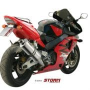 Silencioso STORM Oval Inox Honda CBR 900 RR 02-04 - 74.H.016.LX2