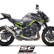 Silencioso SC-Project S1 para Kawasaki Z900 2020 - K25B-T41T