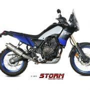 Silencioso STORM Oval Inox Yamaha XT 1200 Z Supertenere 10-19 - 74.Y.034.LX2