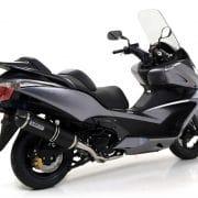 Silencioso Arrow Race-Tech dark Honda SW-T 600 10-16 - 73513AKN