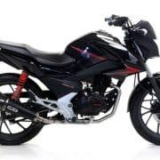 Silencioso Arrow X-Kone dark Honda CB 125 F 15-16 - 51514XKN