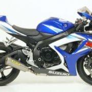 Silencioso Arrow Trophy titanio Suzuki GSX-R600 06-07 - 71134PR