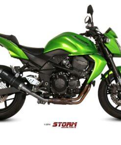 Silencioso Storm GP Black Kawasaki Z750 07-14 - 74.K.018.LXSB