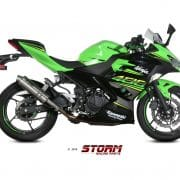 Silencioso Storm GP inox Kawasaki Ninja 400 18-20 - 74.K.047.LXS