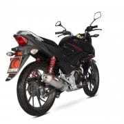 Sistema completo Scorpion Oval inox Honda CB125F 15-17 - EHA171SEO