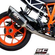 Supresor de catalizador SC-Project KTM 1290 Superduke R - KTM10-DE-SS