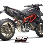 Supresor catalizador SC-Project Ducati Hypermotard 950/SP - D31-DE-SS