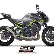 Silencioso SC-Project S1-GP para Kawasaki Z900 2020 - K34-T43T