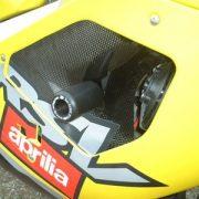 Tope antícaida RG-Racing Negro Aprilia RSV Mille/RSVR 01-03 - RG-CP0002BL
