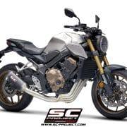 Sistema completo SC1-M SC-Project Honda CB650R - H31-C115C