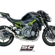 Colectores Acero inoxidable SC-Project Kawasaki Z900 2020 - K34-SS-FS