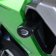Topes antícaidas Negro RG-Racing Kawasaki Versys X-250 17-19 - RG-CP0434BL