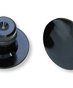 Roscas para espejo original HIGHSIDER Negro brillante - 160-314