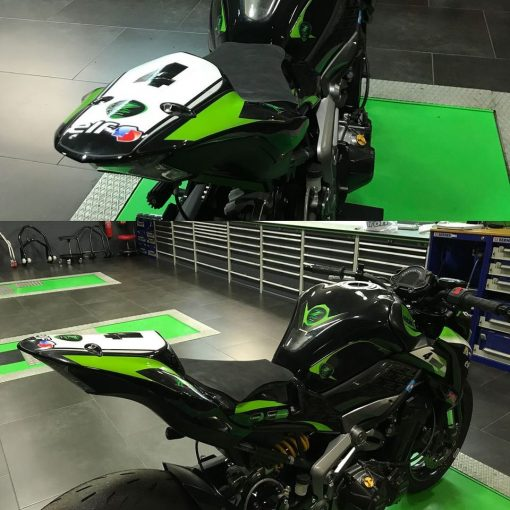Colin Carbonvice monoplaza para Kawasaki Z900