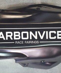 Quilla Carbonvice Racing negra mate para Kawasaki Z900 2020