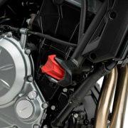 Recambio protector motor PUIG R19 Rojo - 3148R