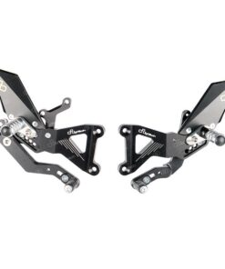 Estriberas ajustables LIGHTECH para Triumph 13-18 - FTRTR004W