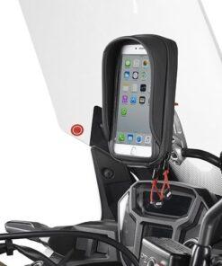 Soporte Universal movil/GPS Givi para moto - S902A
