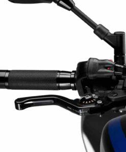 Maneta de freno o freno delantero PUIG 3.0 negra selector negro - 130NN