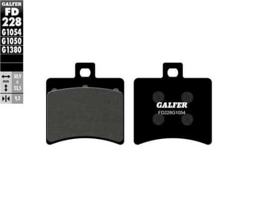 Pastillas de freno Galfer FD228G1054