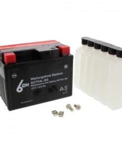 Batería moto YTX4L-BS 6-ON con pack de ácido