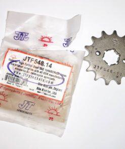 Piñón JT Sprockets 14 Div 428 - JTF548.14 Reacondicionado