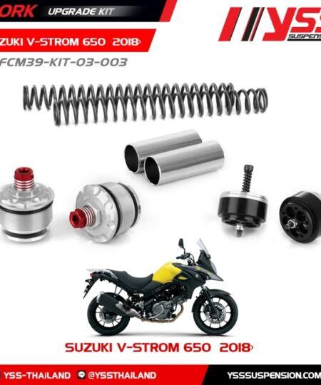 Kit upgrade horquilla YSS Suzuki DL 650 V-Strom 17-20 - Y-FCM39-KIT-03-003