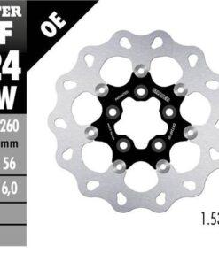 Disco de freno flotante acero GALFER - DF724FLW