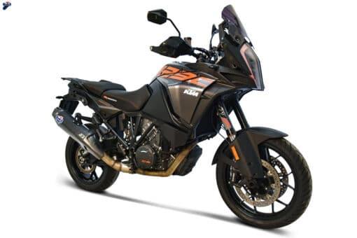 Escape Termignoni Titanio negro KTM Super Adventure 1290 17-19 - KT1908040IBC