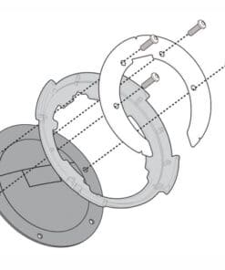 Kit adaptador metálico TANKLOCK GIVI BF10