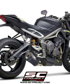 Escape SC-Project SC1-R negro Triumph Street triple 765 S/R/RS 20-21 - T18C-K93B